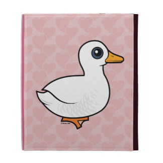 Birdorable Pekin Duck iPad Folio Cover