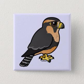 Birdorable Peruvian Aplomado Falcon 2 Inch Square Button