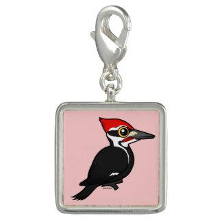 Birdorable Pileated Woodpecker Photo Charm