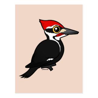 Birdorable Pileated Woodpecker Postcard