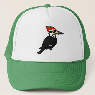 Birdorable Pileated Woodpecker Trucker Hat