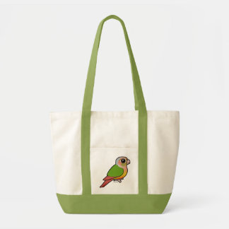 Birdorable Pineapple Green-cheeked Conure Tote Bag