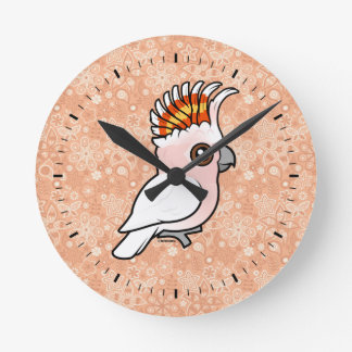 Birdorable Pink Cockatoo Wall Clock