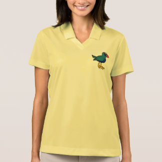 Birdorable Purple Gallinule Polo Shirt