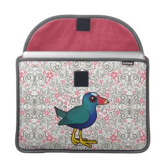 Birdorable Purple Gallinule Sleeve For MacBooks