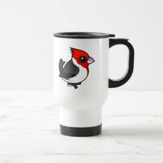 Birdorable Red-crested Cardinal Travel Mug