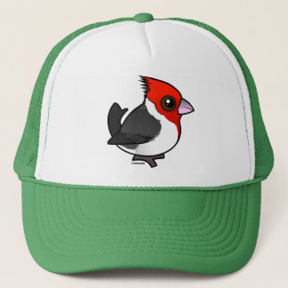 Birdorable Red-crested Cardinal Trucker Hat
