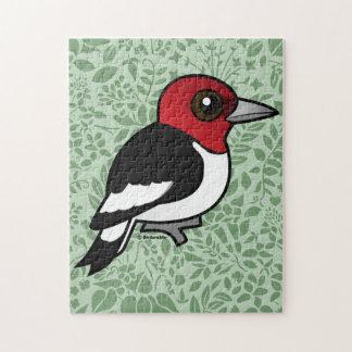 Birdorable Red-headed Woodpecker Jigsaw Puzzle