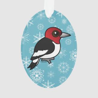Birdorable Red-headed Woodpecker Ornament