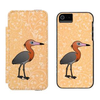 Birdorable Reddish Egret (dark morph) Incipio Watson™ iPhone 5 Wallet Case