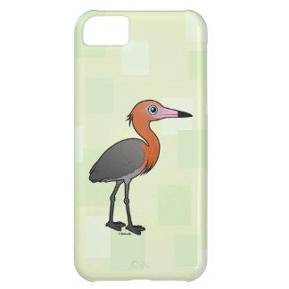 Birdorable Reddish Egret (dark morph) iPhone 5C Covers