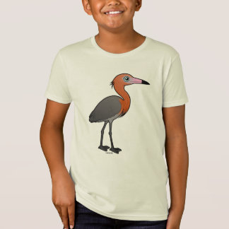 Birdorable Reddish Egret (dark morph) T-Shirt