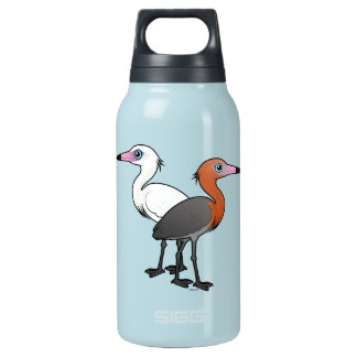 Birdorable Reddish Egrets Insulated Water Bottle