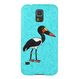 Birdorable Saddle-billed Stork Galaxy S5 Covers