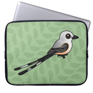 Birdorable Scissor-tailed Flychatcher Laptop Sleeve