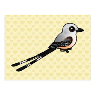 Birdorable Scissor-tailed Flychatcher Postcard