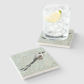 Birdorable Scissor-tailed Flychatcher Stone Coaster