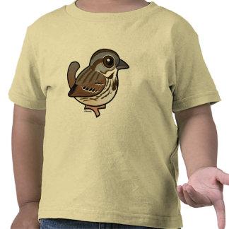 Birdorable Song Sparrow Shirts