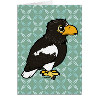 Birdorable Steller's Sea Eagle Card