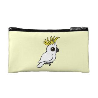 Birdorable Sulphur-crested Cockatoo Cosmetic Bag
