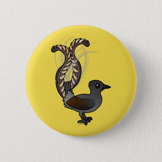 Birdorable Superb Lyrebird 2 Inch Round Button