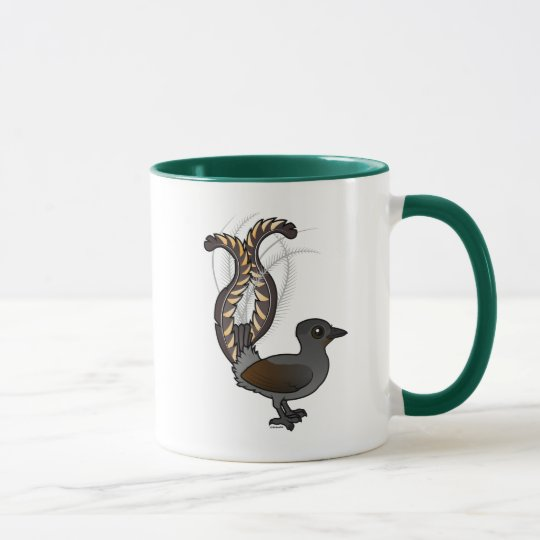 Birdorable Superb Lyrebird Mug
