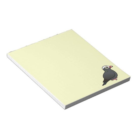Birdorable White-crowned Pigeon Notepad