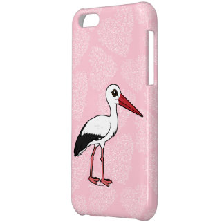 Birdorable White Stork Cover For iPhone 5C
