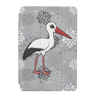 Birdorable White Stork iPad Mini Cover