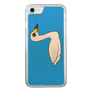 Birdorable Whooper Swan Carved iPhone 7 Case