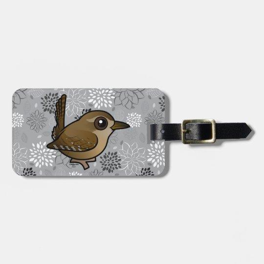 Birdorable Winter Wren Bag Tag