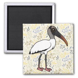 Birdorable Wood stork Magnet