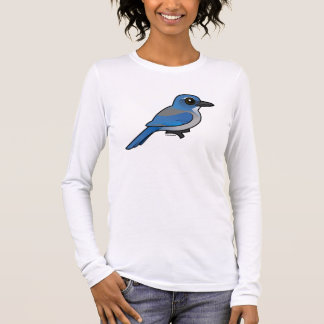 Birdorable Woodhouses Scrub-Jay Long Sleeve T-Shirt