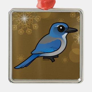 Birdorable Woodhouses Scrub-Jay Metal Ornament
