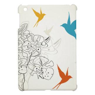 Birds a flower2 iPad mini cover