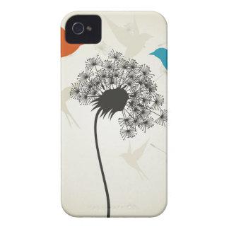 Birds a flower3 iPhone 4 cases