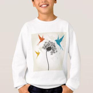 Birds a flower3 sweatshirt