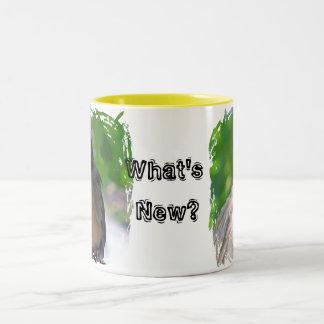 Birds a Twitter Two-Tone Coffee Mug