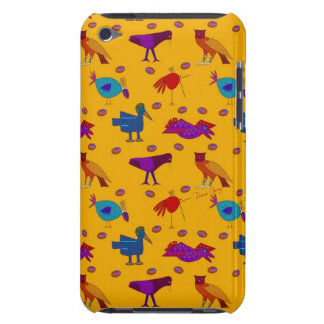 Birds - Abstract Purple Hawks Blue Chickens Case-Mate iPod Touch Case