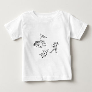 Birds and beasts person caricature baby T-Shirt