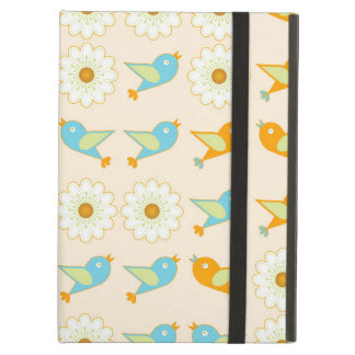 Birds and daisies case for iPad air