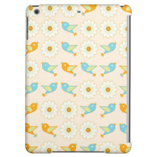 Birds and daisies cover for iPad air