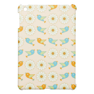 Birds and daisies cover for the iPad mini