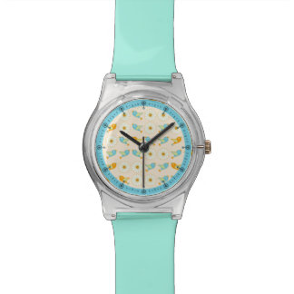 Birds and daisies watch