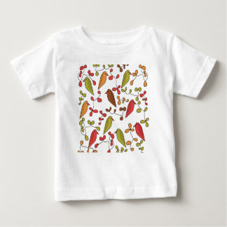 Birds and flowers 3 baby T-Shirt