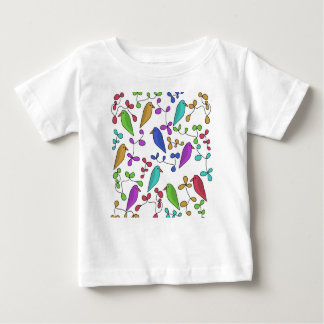 Birds and flowers baby T-Shirt