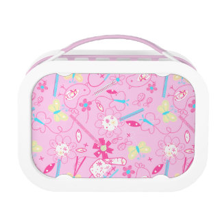 Birds and flowers lunch box