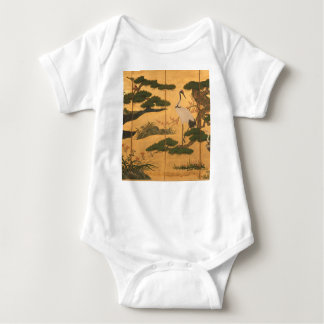 Birds and Flowers of the Four Seasons Baby Bodysuit