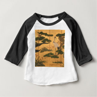 Birds and Flowers of the Four Seasons Baby T-Shirt