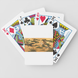 Birds and Flowers of the Four Seasons Bicycle Playing Cards